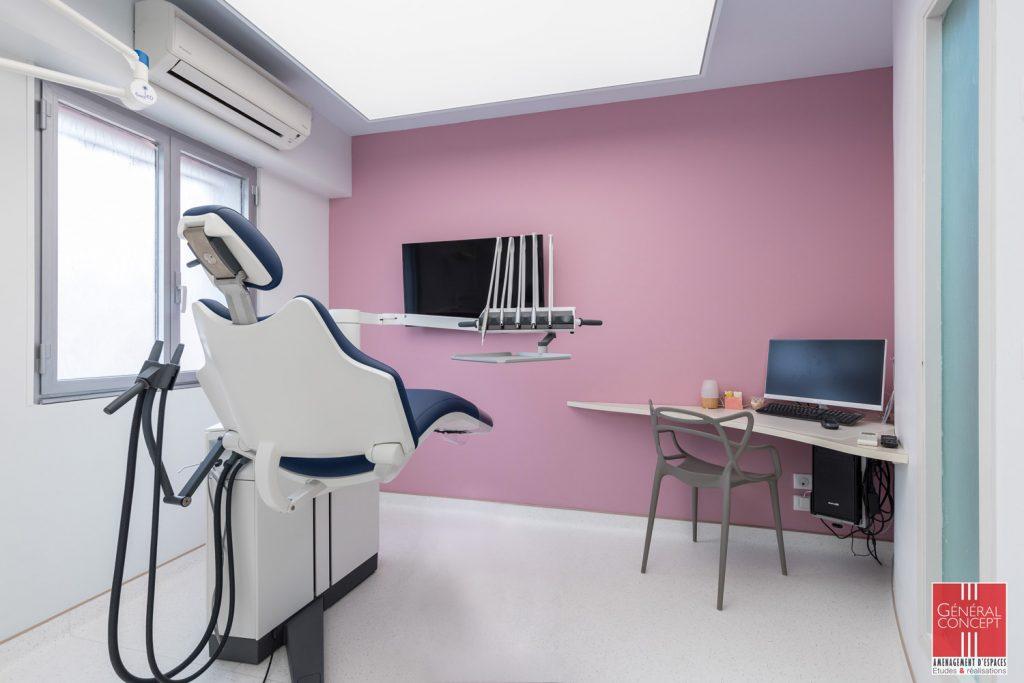 Image du cabinet, salle de soin numéro 2