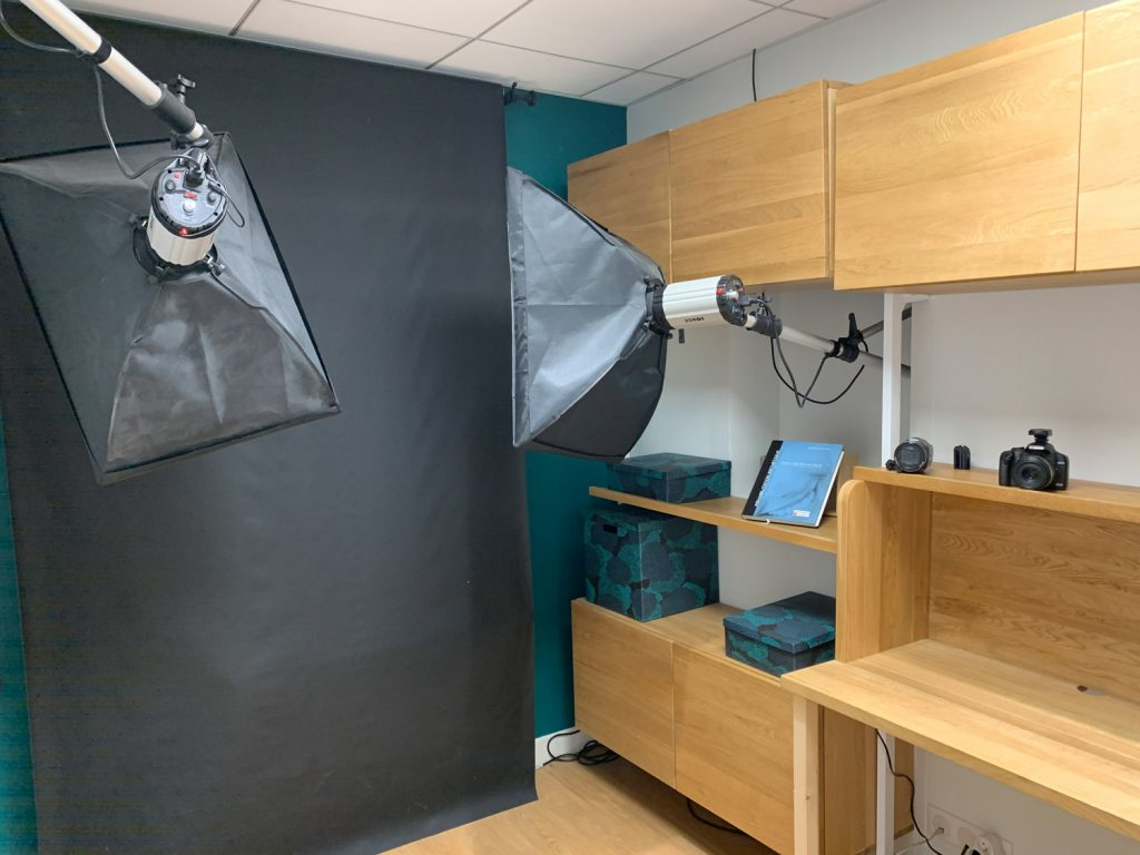 Image du cabinet, studio pour la photographie
